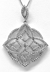 Ladies Diamond Pendant
