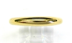 Ladies Gold Wedding Band