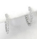 Ladies Diamond Earrings