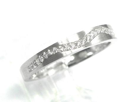 Ladies Diamond Wedding Band