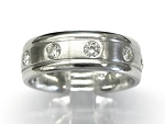 Mens Eternity Diamond Wedding Band