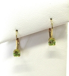 Ladies Peridot Earrings