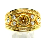 Ladies Yellow Diamond Ring