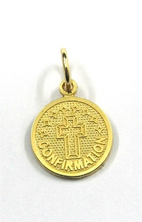 Yellow Gold Confirmation Pendant